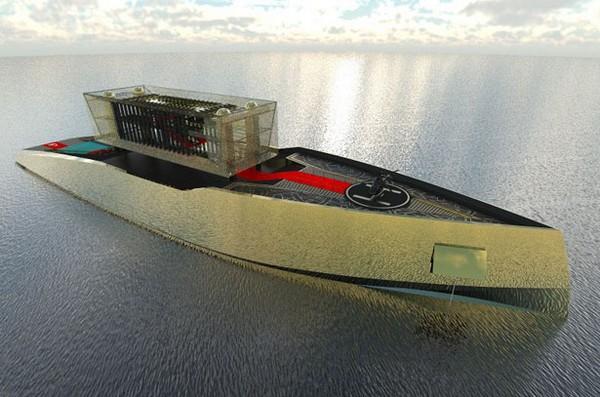 Golden Gate 136M Yacht – яхта для вечеринок в стиле Оскара