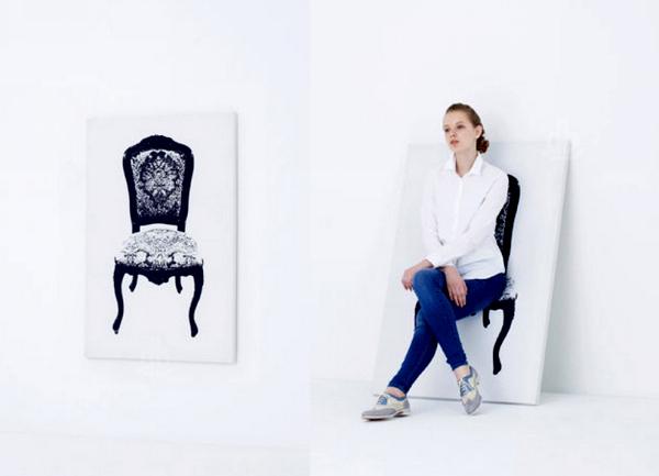 Canvas Furniture: картина-мебель от студии YOY