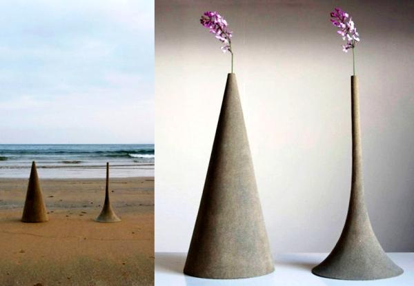 Sand, дизайнерские вазы-пасочки
