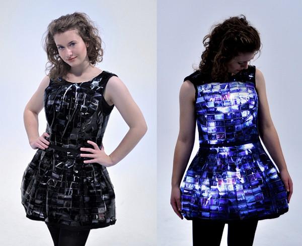 Little Slide Dress – светодиодное платье-фонарь