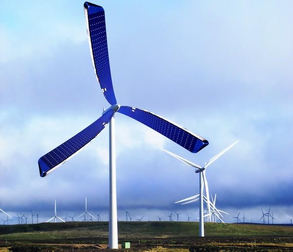 Heat Waver – ветряные турбины с солнечными панелями