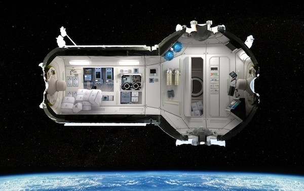 CSS – российский отель для космических туристов