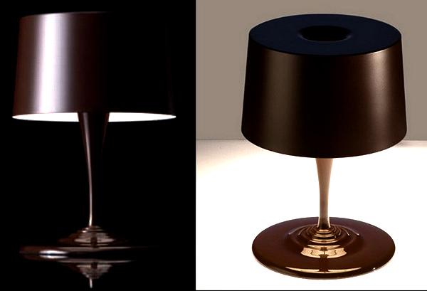 Chocolate Modern Table Lamp. Лампа-десерт от студии Nemo Cassina