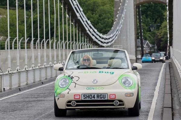 VW Bio-Bug от Geneco – автомобиль, работающий от фекалий