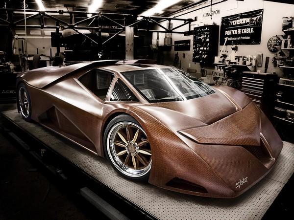 Splinter – деревянный спортивный автомобиль