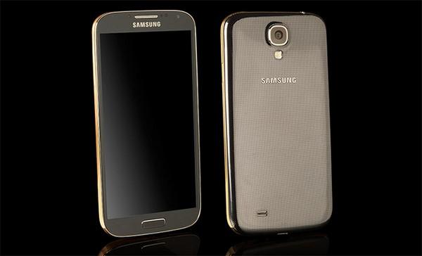 Золотая и платиновая версии Samsung Galaxy S4