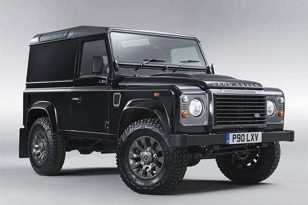 Специальный выпуск Land Rover Defender LXV в 65-летию модели