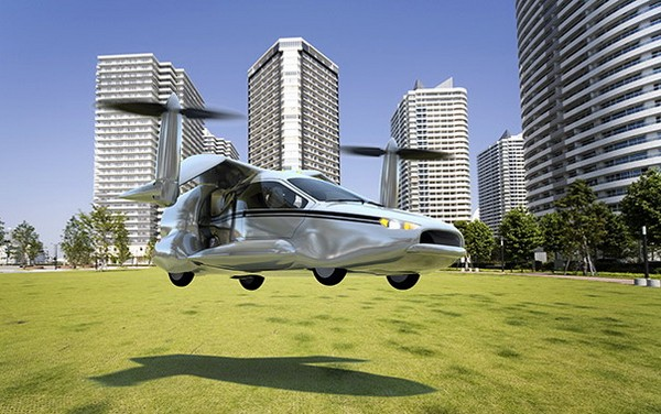 Terrafugia TF-X – первый в мире летающий гибрид