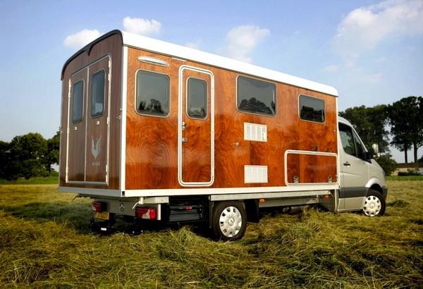 Tonke Fieldsleeper – дом на колесах в стиле ретро
