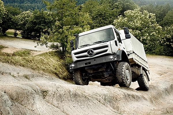 Mercedes-Benz Unimog нового поколения