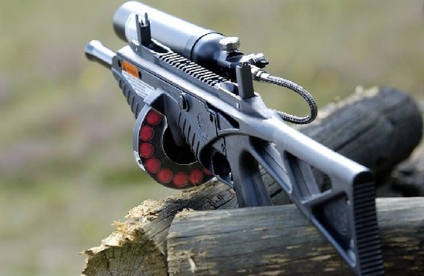 FN303 – пэйнтбольное ружье для контроля за толпой