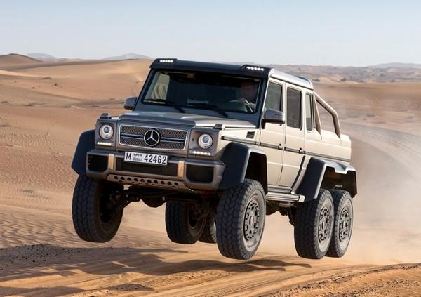 Mercedes-Benz 6x6 – самый внедорожный внедорожник