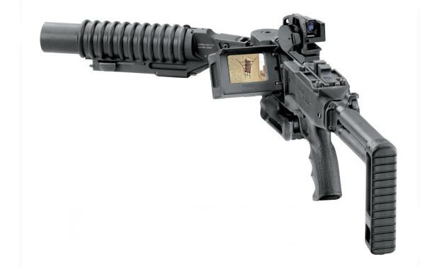 New Corne – автомат для стрельбы из-за угла