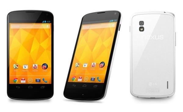 Вышел белый LG Nexus 4