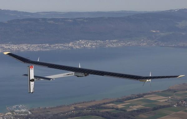 Solar Impulse – солнечный самолет, летящий через всю Америку