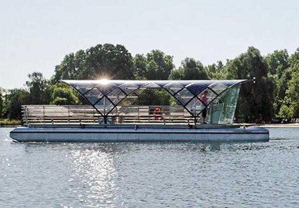 Solar Shuttle – речные трамвайчики на солнечных батареях