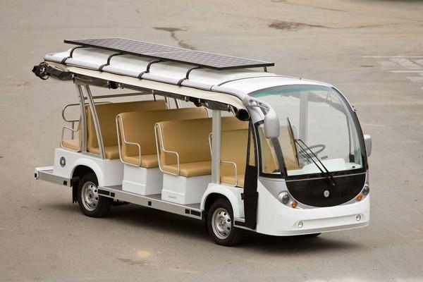 Solar Shuttle – солнечный автобус для езды по студгородку