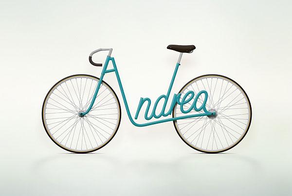 Write a Bike – именной велосипед
