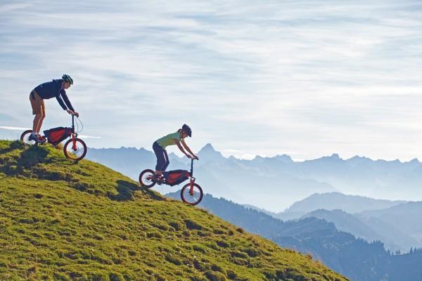 Bergmonch – велосипед в рюкзаке