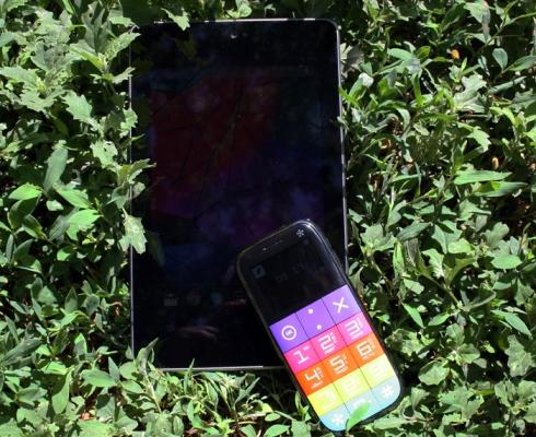 Мобильный телефон Just5 CP10S - телефон-пришелец с нетривиальным подходом к дизайну