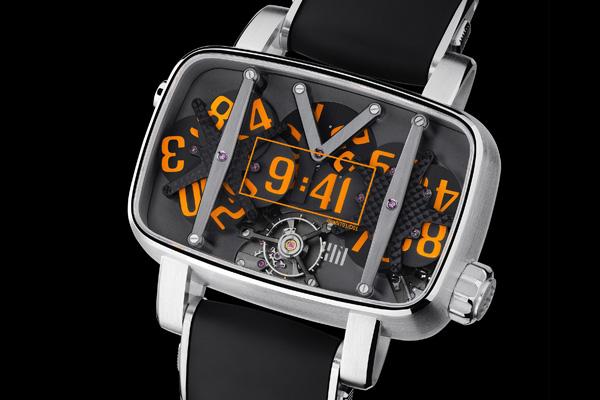 Концептуально новые механические наручные часы