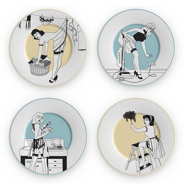 Набор тарелок из серии