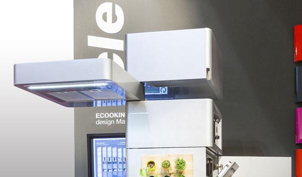 Kitchen Ecooking: модуль с вытяжкой и подсветкой
