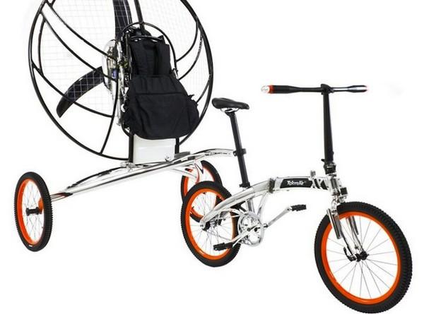 Летающий велосипед Paravelo