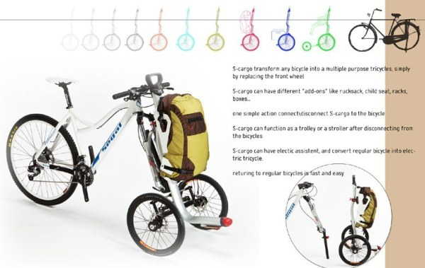S-cargo - удобный велосипед для городских поездок