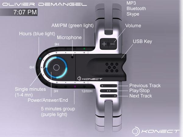 Tokyo USB Concept Watch: многофункциональный наручный аксессуар