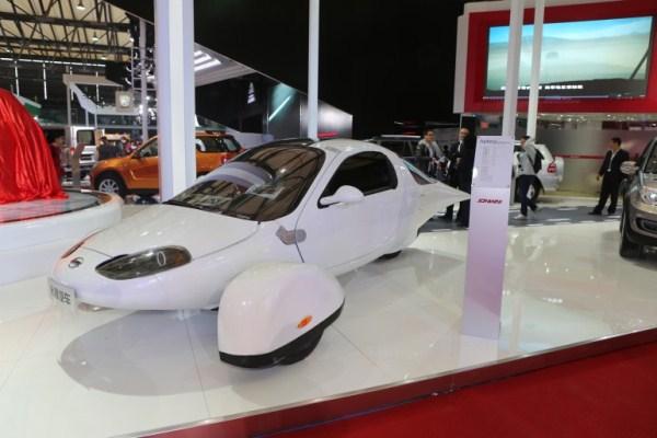 Космический дизайн нового авто