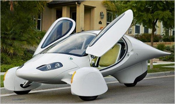 Футуристичный автомобиль от Aptera Motors