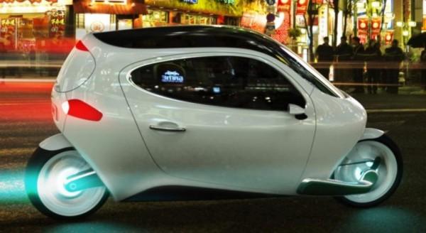 Lit Motors' C-1: скорость байка, комфорт авто