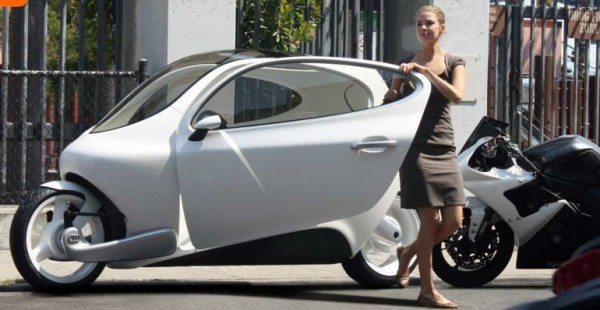 Lit Motors' C-1 electric - стильный и зелёный гибрид