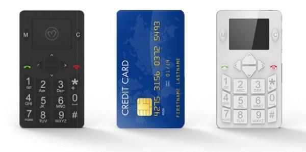 Micro-Phone – мобильный телефон в кошельке