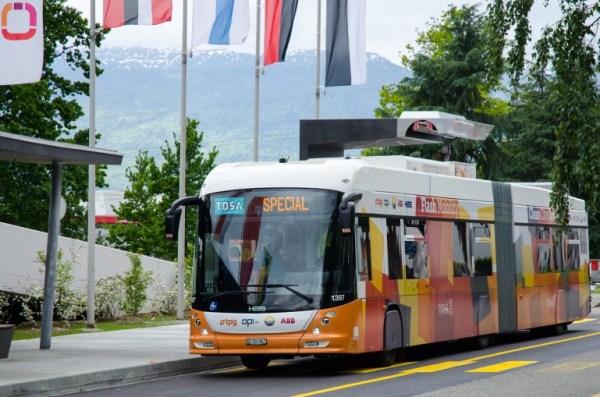 Электроавтобус TOSA: свежий взгляд на общественный транспорт