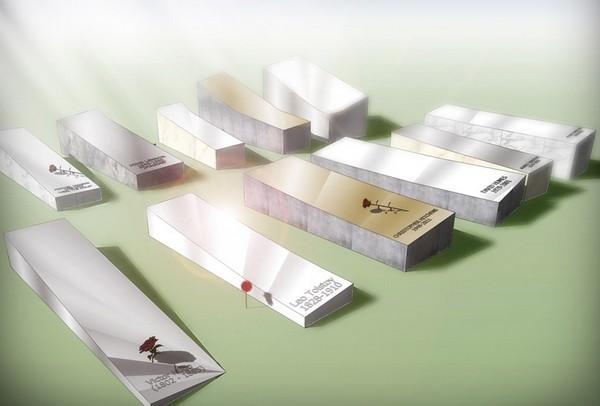 Солнечные надгробия, которые производят энергию