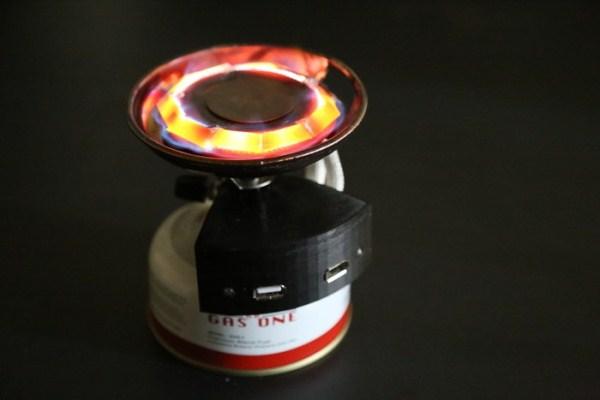Горелка Halo: энергию тепловую в электрическую