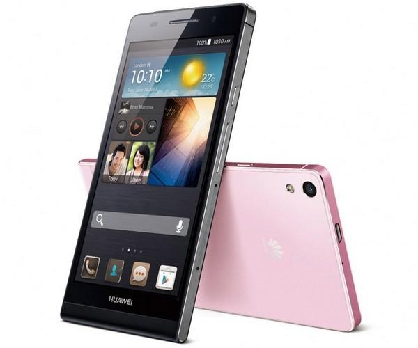 Huawei Ascend P6 – самый тонкий в мире смартфон