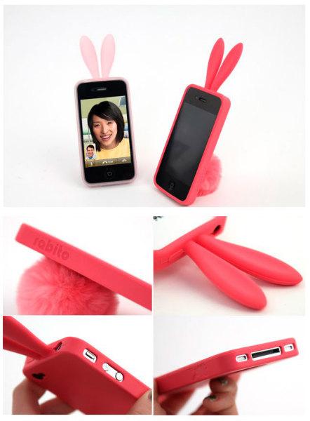Ушастая подставка для смартфона от Rabbito