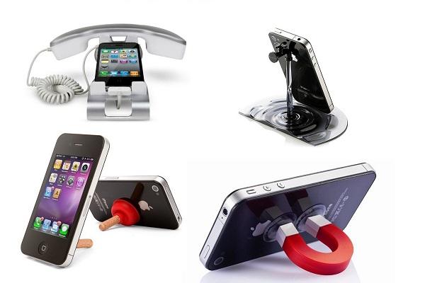 Креативные подставки для смартфонов
