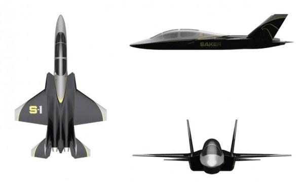 Самолёт Saker S-1: скромные габариты и необраниченные возможности