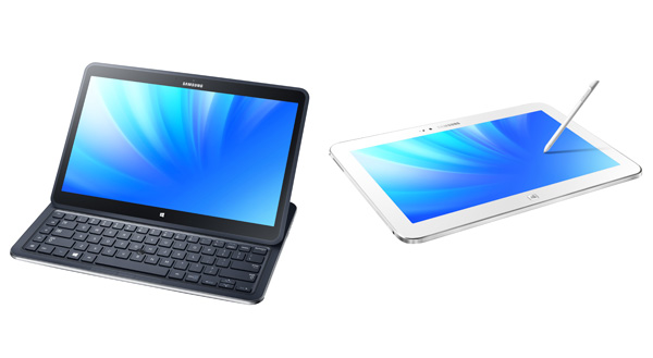 Samsung  ATIV Q: дизайн от Galaxy и Series 9