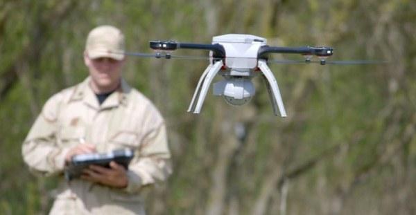 SkyRanger UAV на задании