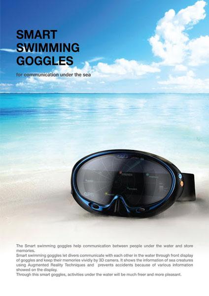 Интеллектуальная подводная маска от южнокорейских инженеров