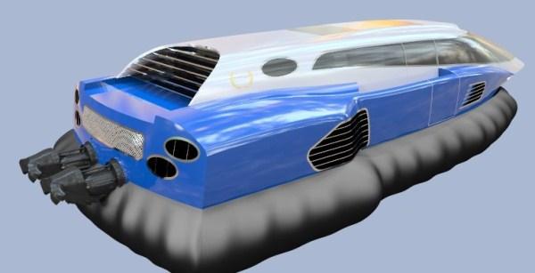 Яхта на воздушной подушке