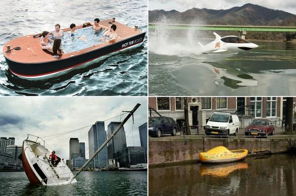 Самые необычные в мире лодки