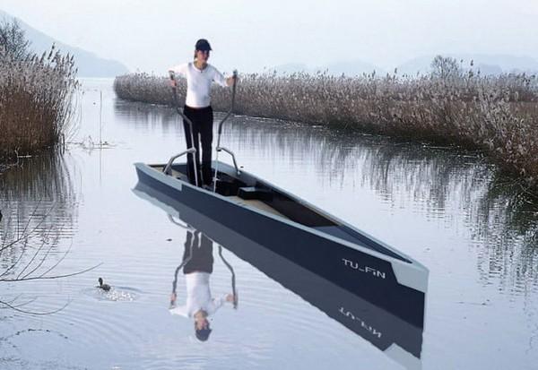 TU FiN – лодка для фитнеса