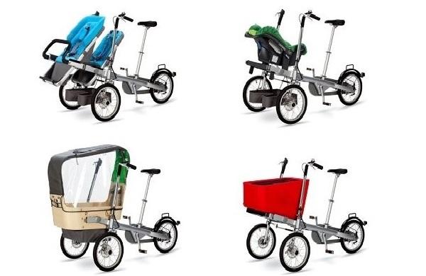 Коляска-велосипед Taga bikes