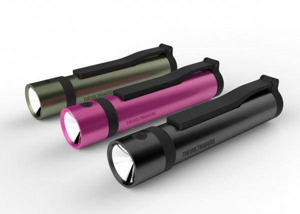Voltmaker – волшебная палочка для зарядки телефона и фонарика